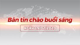 Bản tin chào buổi sáng Nghệ An ngày 19/02/2020