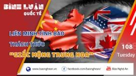 Vén màn Ngũ nhãn: Liên minh tình báo thách thức 'giấc mộng Trung Hoa'
