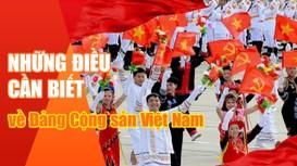 Những điều cần biết về Đảng Cộng sản Việt Nam