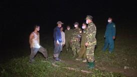 Biên phòng Nghệ An xuyên đêm chốt chặn biên giới, phòng dịch Covid-19