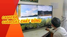 Camera sử dụng pin năng lượng mặt trời để giám sát cháy rừng ở Nghệ An hoạt động như thế nào?