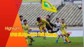 Highlight: Những khoảnh khắc ghi bàn ấn tượng của các cầu thủ U13 SLNA