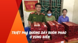 Triệt phá đường dây buôn pháo ở vùng biển Nghệ An