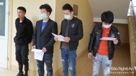 Nghệ An: Bắt giữ 7 người Trung Quốc nhập cảnh trái phép