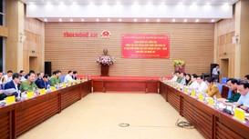Đại tướng Đỗ Bá Tỵ làm trưởng đoàn công tác kiểm tra việc chuẩn bị bầu cử tại Nghệ An