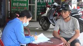 Phố núi ở Nghệ An xử phạt 17 trường hợp không đeo khẩu trang khi ra vào chợ