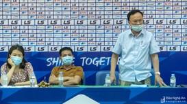 Video: Ông Nguyễn Hồng Thanh - TGĐ Sông Lam Nghệ An tiết lộ về 3 nhà tài trợ đang tìm hiểu đội bóng