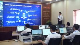 Video: Cận cảnh bên trong Trung tâm điều hành đô thị thông minh của TP Vinh