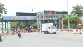 Công an Nghệ An lập chốt 24/24h tại các điểm cầu, dừng phương tiện vận tải khách đến và đi Hà Tĩnh