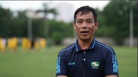Huấn luyện viên Nguyễn Huy Hoàng nói về chiến thuật mới của Sông Lam Nghệ An trong giai đoạn tới
