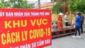 Giãn cách xã hội TP Vinh và huyện Diễn Châu, thần tốc truy vết hàng ngàn F1 của ca nhiễm Covid-19