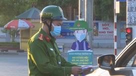 Hướng dẫn cụ thể giấy tờ cần có khi đi đường trong thời gian TP Vinh siết chặt phòng chống dịch