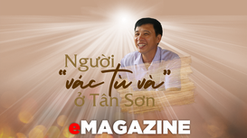Người 'vác tù và' ở Tân Sơn