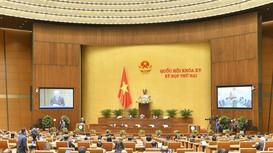 Quốc hội thảo luận Nghị quyết về tổ chức phiên tòa trực tuyến