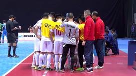 Thua Uzbekistan 1-3, Việt Nam dừng chân tại tứ kết Futsal châu Á