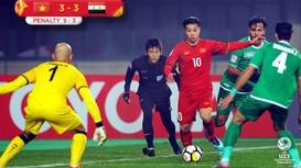 Những pha bóng kinh điển U23 Việt Nam gặp U23 Iraq (VCK U23 châu Á 2018)