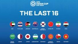 Điểm danh 16 đội bóng vào vòng loại trực tiếp Asian Cup 2019