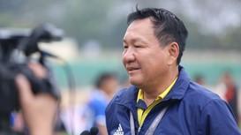 HLV Hoàng Văn Phúc đánh giá cao kinh nghiệm của cầu thủ SLNA