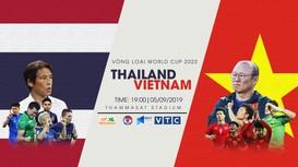 Trực tiếp Thái Lan và Việt Nam