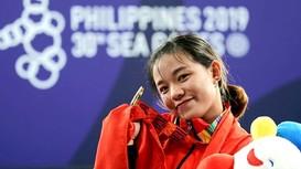 VĐV cử tạ Philippines khóc như mưa khi Hồng Thanh - người Nghệ An giành HCV SEA Games 30