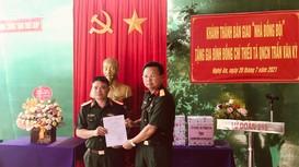 Lữ đoàn xe tăng 215 khánh thành và bàn giao 'Nhà đồng đội' cho quân nhân chuyên nghiệp