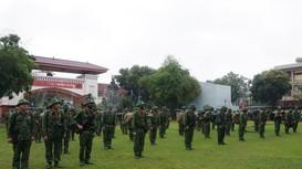 Bộ CHQS tỉnh huấn luyện chuyển trạng thái sẵn sàng chiến đấu