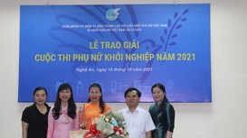 2 dự án của phụ nữ Nghệ An được nhận giải thưởng 'Ngày Phụ nữ khởi nghiệp năm 2021'