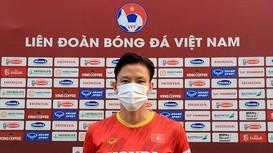 Đội trưởng Quế Ngọc Hải: Mục tiêu của đội tuyển Việt Nam là có điểm