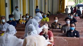 Hình ảnh mới nhất về 52 chiến sĩ tình nguyện Nghệ An chi viện Hà Tĩnh ở tâm dịch Lộc Hà