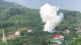 Vụ nổ gây chết người có thể do vật liệu nổ tự chế