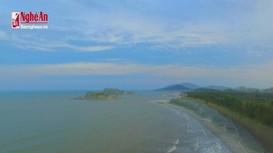Flycam: Ấn tượng biển Quỳnh