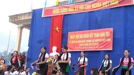 Châu Hồng (Quỳ Hợp) tổ chức điểm ngày hội đại đoàn kết