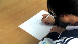 Nữ sinh trường Phan gây sốt với bài tập Sinh học