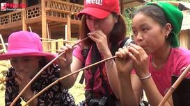 Thú vị trải nghiệm 'phượt' ở bản Thái cổ