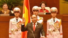 Video Ông Nguyễn Xuân Phúc nhậm chức Thủ tướng
