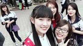 Nghệ An: Học sinh trường Phan lại gây sốt với bản cover Gái Phan là của trai Phan