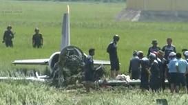 Máy bay quân sự ở Phú Yên có thể rơi do chết máy