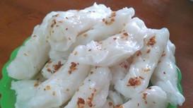 Ăn sáng bánh mướt Diễn Châu với 3000 đồng