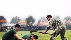 Mãn nhãn với màn biểu diễn võ thuật của lính trinh sát Nghệ An