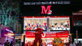 Trung tâm Thời trang Dệt may xuất khẩu M2 lần đầu tiên có mặt tại Nghệ An