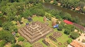 Campuchia huyền bí nhìn từ trên cao