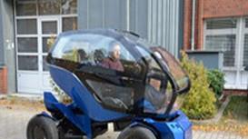 Xe điện thông minh thay đổi kích thước để vừa bãi đỗ