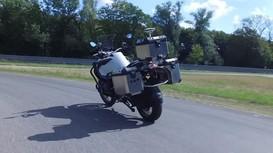 Công nghệ tự lái được thực nghiệm trên mô tô