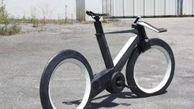 Xe đạp thông minh sử dụng bánh không nan hoa