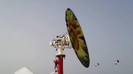 Tuabin không cánh quạt chuyển gió thành điện