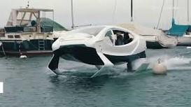 Taxi điện chạy trên mặt nước