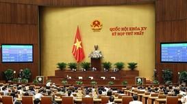 Kỳ họp thứ nhất, Quốc hội khóa XV: Tiến hành bầu các chức danh quan trọng