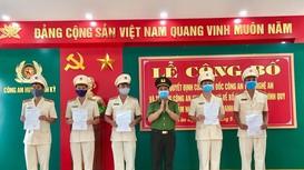 Nghệ An hoàn thành việc thành lập chi bộ công an xã