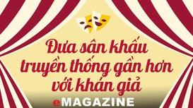 NSND Hồng Lựu: Đưa sân khấu truyền thống gần hơn với khán giả