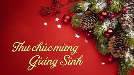 Thư mừng Lễ Thiên chúa Giáng sinh